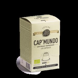 Capsule Copaiba Cap mundo, Capsules compatibles Nespresso. BIO