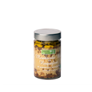 Moutarde Bio au roquefort et amandes torréfiées à l'huile d'olive