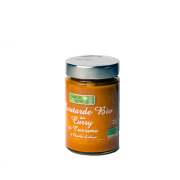 Moutarde Bio au Curry et Curcuma à l'huile d'olive