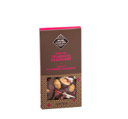 Tablette chocolat noir 72% Framboise Cranberry