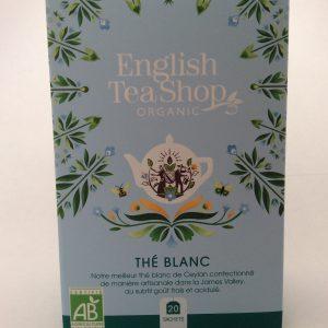 thé blanc en sachet