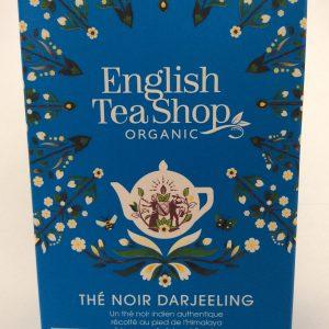 thé noir Darjeeling en sachet