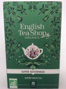 thé vert matcha en sachet