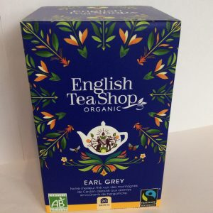 thé noir Earl grey en sachet