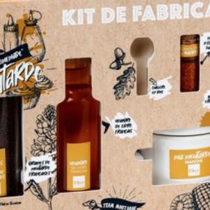 kit de préparation de moutarde