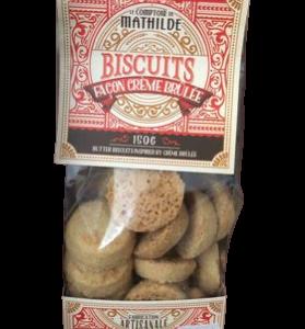 biscuit crème brulé